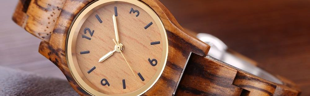 GO Eco-Friendly With Lux Wood's Oak Watches