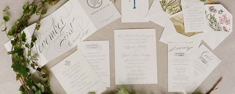 Guide in Creating a Stunning Wedding Invitation